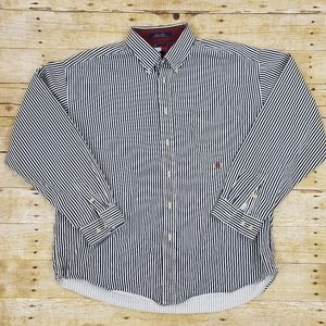 Vintage Tommy Hilfiger Crest button down shirt